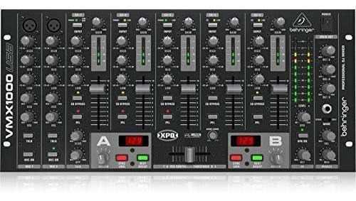 Behringer Pro Mixer Vmx1000usb Mezclador De Dj Profesional D
