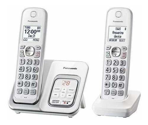 Doble Telefono Inalambrico Panasonic + Contestadora Tgd532