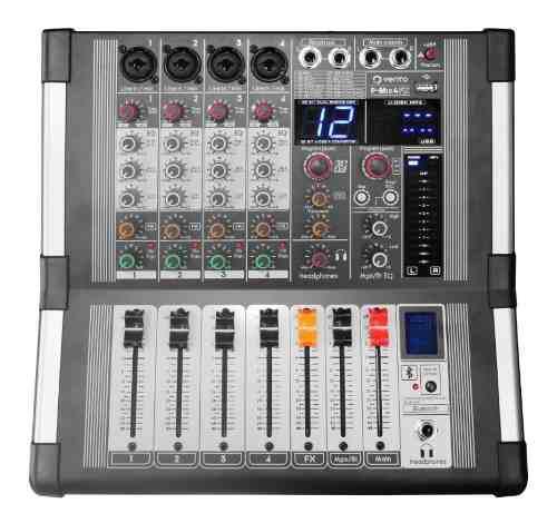 Mezclador De Audio Activo 4 Canales Vento P-mix4fx Efx Dsp