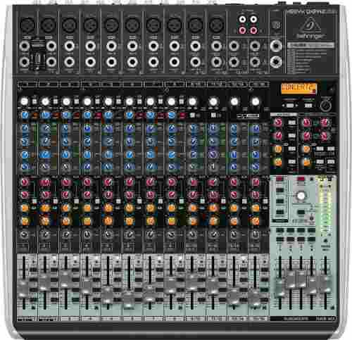 Mixer Behringer Qx2442 Usb Ideal Para Estudio