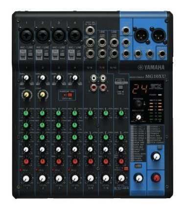 Mixer Consola Audio Yamaha Mg10xu