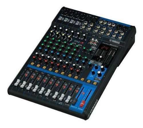 Mixer Mg12xu Yamaha Mezclador Con 12 Entradas Y Efectos