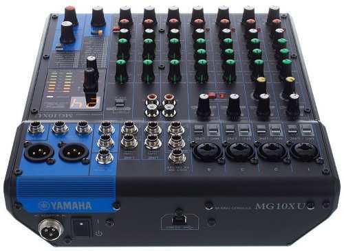 Mixer Yamaha Mg10xu Mezclador De 10 Entradas Efx