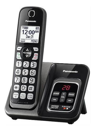 Telefono Inalambrico Panasonic Con Contestador Kx-tgd530m