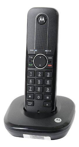Teléfono Inalámbrico Motorola Negro