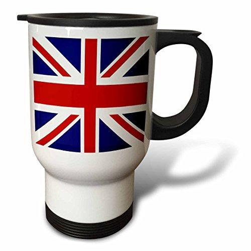3drose Union Jack Old British Naval Flag Acero Inoxidable Ta