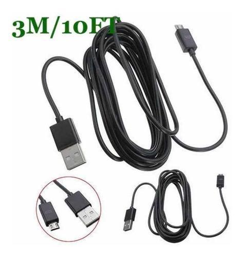Cable 3metros Cargador Control Ps4