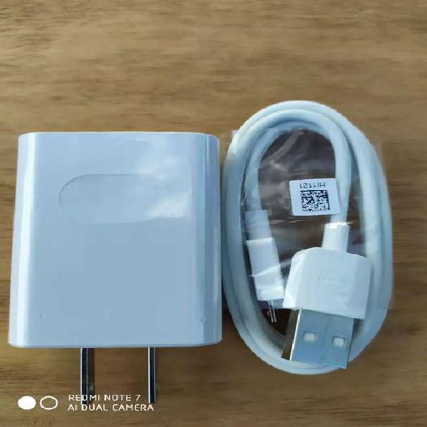 Cargador Original Huawei Y9/Y7/Y6 P Smart Del 2019 Micro USB