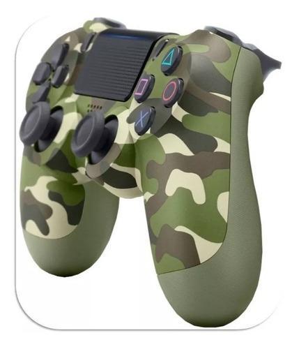 Control Ps4 Camuflado Verde Militar Dualshoch 4 Generacion 2