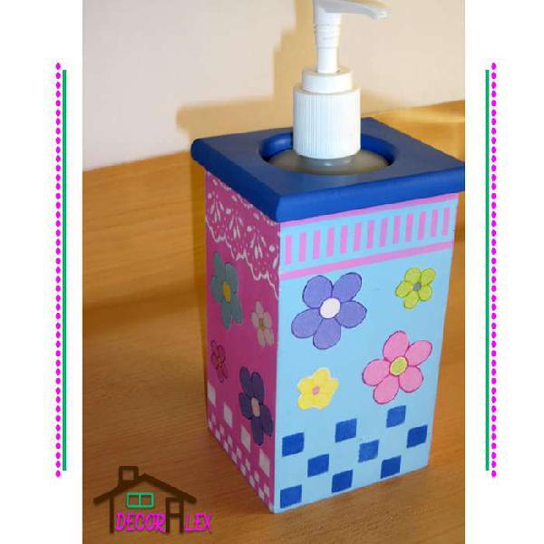Dispensador de jabón líquido para baño