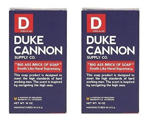 Duke Cannon Naval Supremacy Big Ass Bar De Jabon Para Hombre