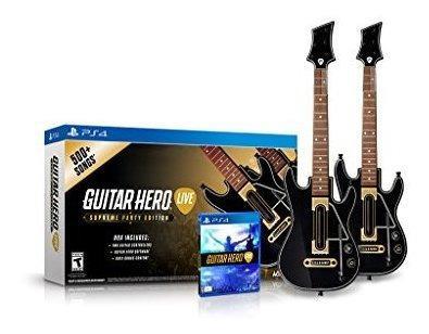 Paquete De Paquete De 2 De Guitar Hero Live Supreme Party Ed