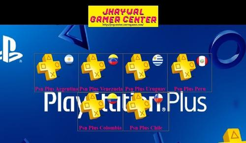 Psn Plus 14 Dias Para Ps3, Ps4