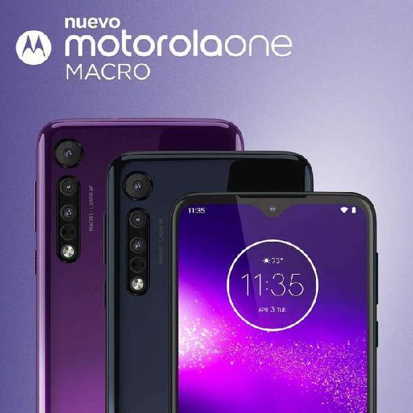 Celular MOTOROLA One Macro 64GB