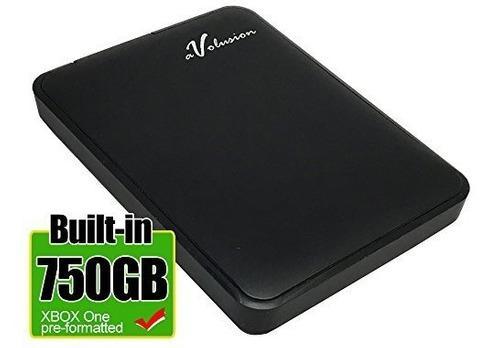 Disco Duro Avolusion Externo 750 Gb Usb 3.0 Para Xbox