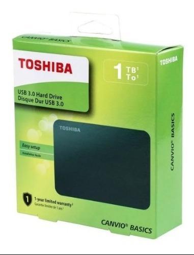 Disco Duro Externo Toshiba 1tb Tera Basic