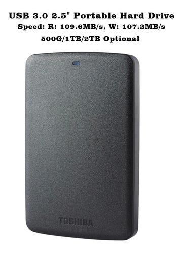 Disco Duro Externo Toshiba Canvio 2 Tb Nuevo Usb 3.0
