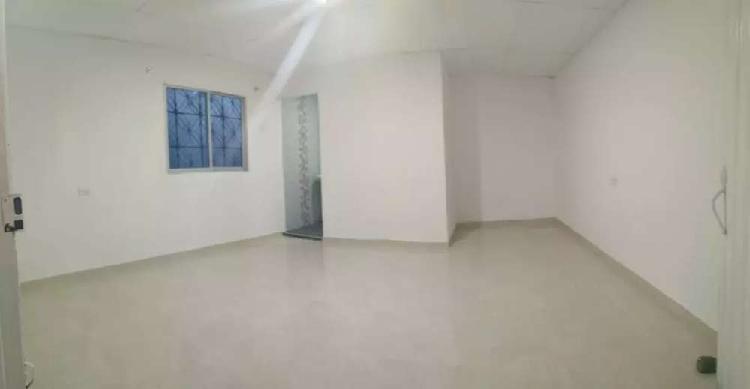 Se arrienda habitación amoblada o sin amoblar para una sola