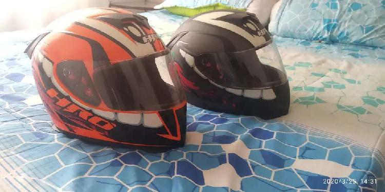 Vendo dos cascos HRO en buen estado