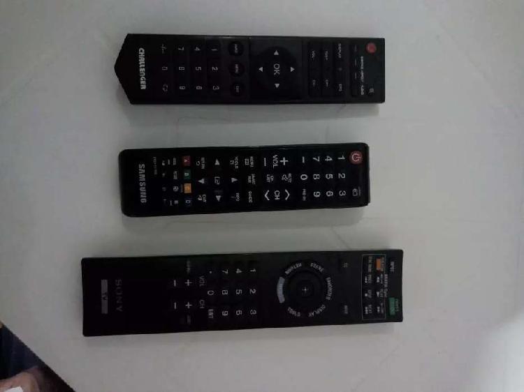 vendo controles para tv Challenger, Samsung y SONY