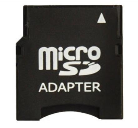 Adaptador Convertidor Memoria Mini Sd - Micro Sd Microsd