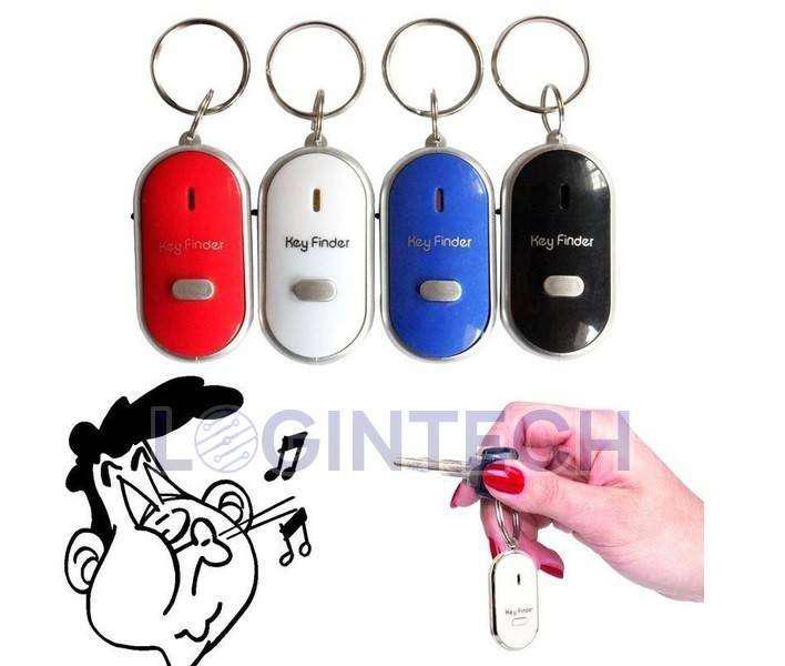 Buscador de llaves LED Localizador Llavero Encuentra llaves