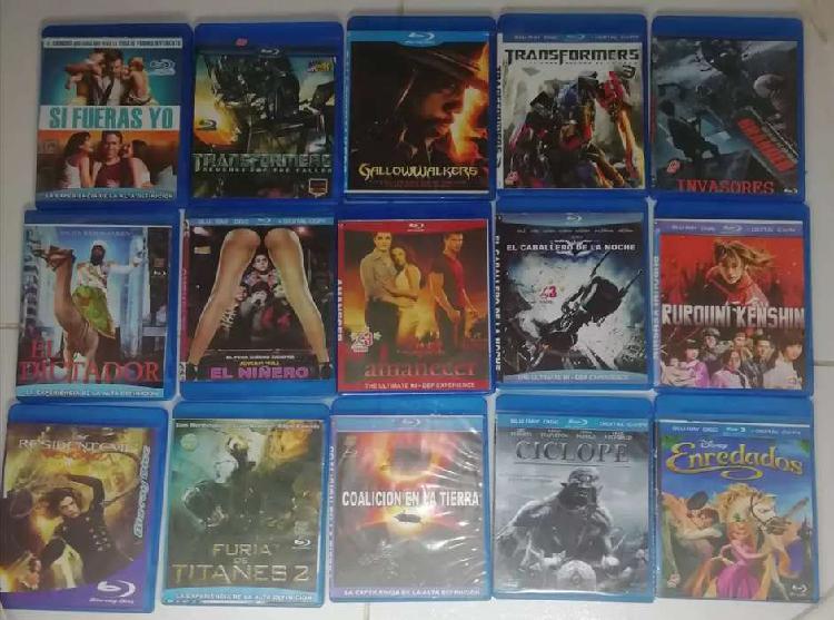 Cambio Peliculas de Blu Ray