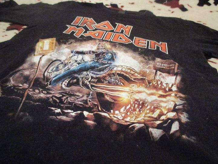 Camisas de rock para hombre talla M