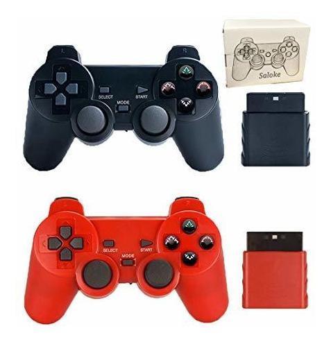 Consola De Juegos Inalámbrica Saloke 2 Packs Para Ps2
