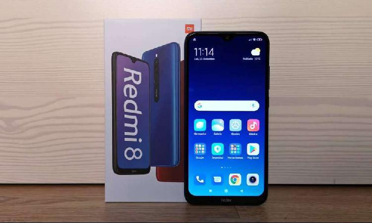 GANGA Xiaomi Redmi 8 64gb Superbateria 5000mah Azul