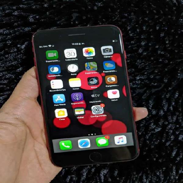 IPHONE 8 PLUS ROJO 64 GB NUEVECITO