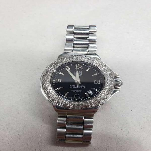 Reloj para Mujer Tag Heuer WAC1214 Con Dimantes pulso de