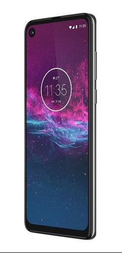 Celular Libre Motorola Moto One Action 128gb Blanco