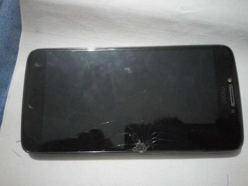 Celular Motorola Moto E4 Plus, Pantalla Rota, Negociable