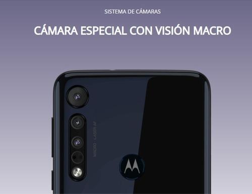 Celular Motorola One Macro De 64 Gigas Azul