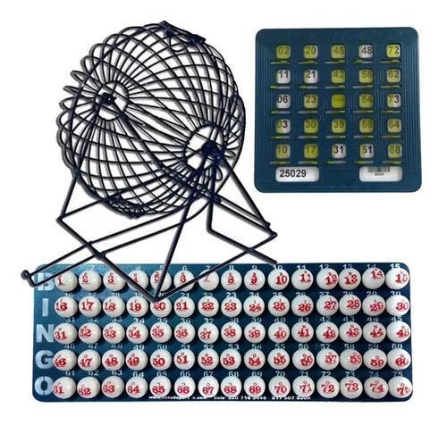 Juego De Bingo Grande Completo + 30 Tablas Plasticas Profesi