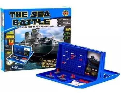 Juego Mesa Astucia Naval Ronda Didáctico Env Inmediato