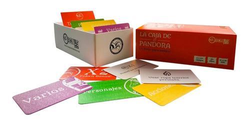 Party Game, La Caja De Pandora, Cartas, Juego De Mesa