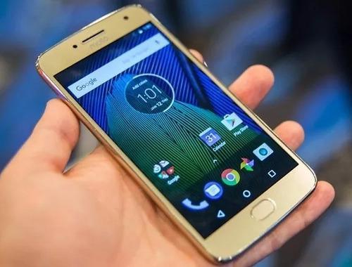 Vendo Moto G5 Plus Dorado Como Nuevo