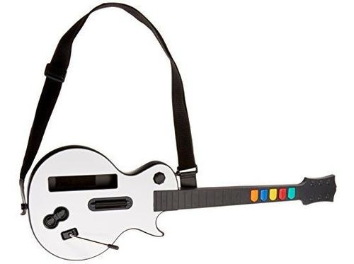 Guitarra Inalambrica Para Wii Guitar Hero Y Juegos De Bandas