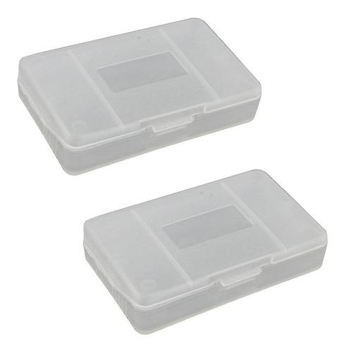 20 Caja Cartucho Gba/ Gba Sp -cover Case Game Boy Advance Sp