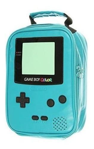 Bolsa Caja Refrigerador Almuerzo Color Game Boy Nintendo