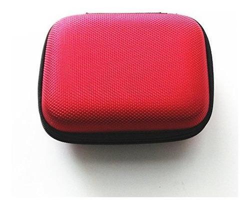 Color Rojo Bolsa De Funda Protectora Para Gameboy Advance