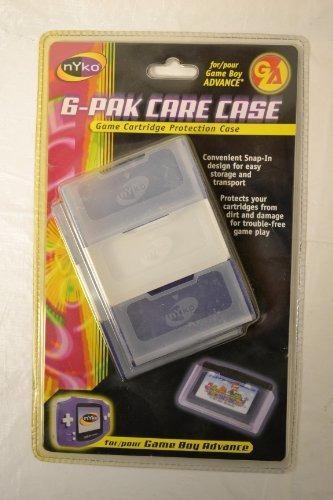 Estuche Gba 6pak Care Game Boy Advance