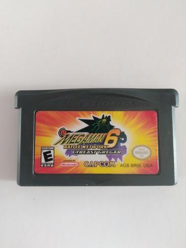 Megaman 6 Battle Network - Nintendo Game Boy Advance Gba
