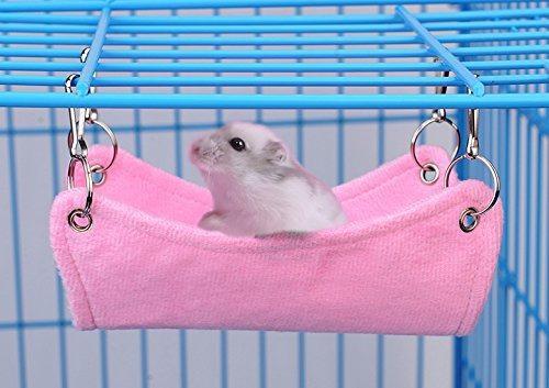Pevor Hamster Lona Transpirable Hamaca Tapete De Cama Rat Ra