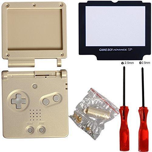 Timorn Full Parts - Carcasa De Repuesto Para Nintendo Gba Sp