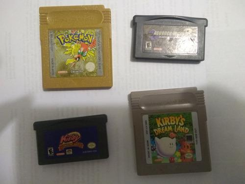 Vendo Juegos Game Boy:pokemon Oro, Advance Wars, 2 Kirby