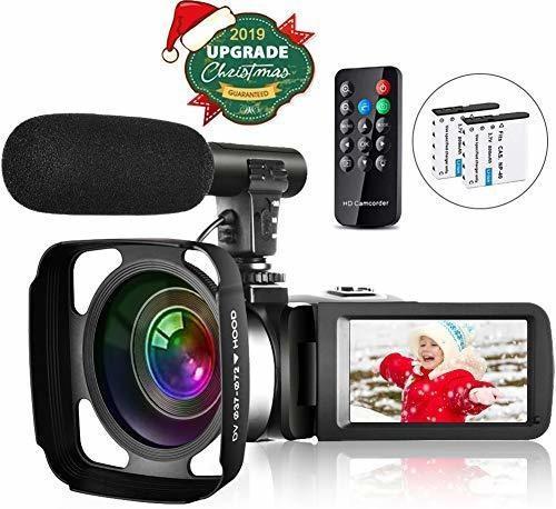 Videocamara Youtube Full Hd 2.7k 30fps 30mp Vision Nocturna