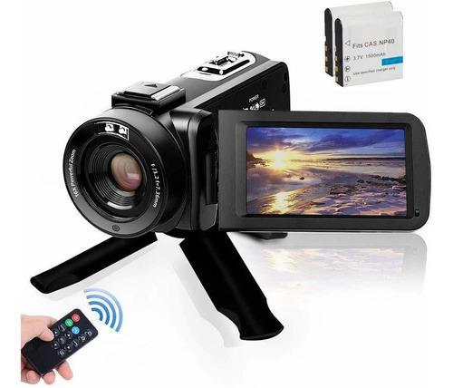Videocámara, Videocámara Digital Vlogging Camera Fhd...